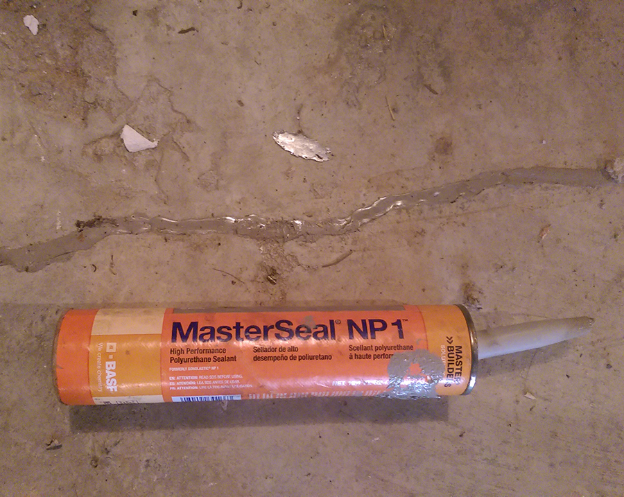 2. Seal Cracks In The Foundation Walls And Floor