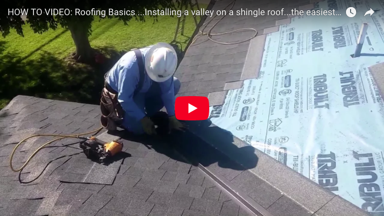 California Valley A Fast Way To Shingle An Open Roof