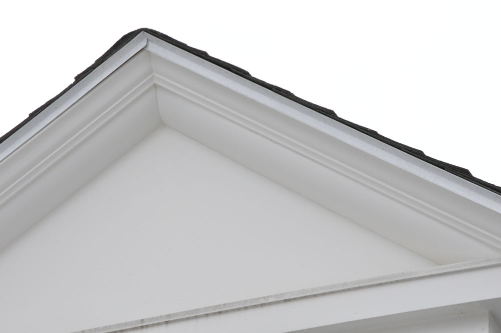 Exterior Trim Trick: Quarter Round Molding from the Plumbing ...