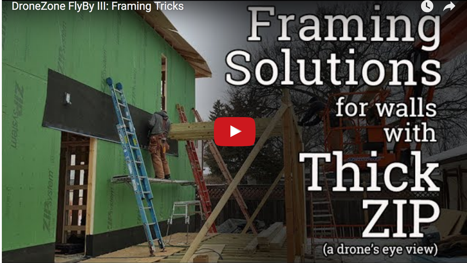 Framing Tips For Walls With Thick Zips Protradecraft