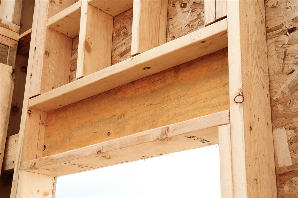 It Is Pretty Standard Practice To Double Up A 2x10 And Place It Above All  Window And Door Openings In A House, Regardless Of Whether They Are Load  Bearing, ...