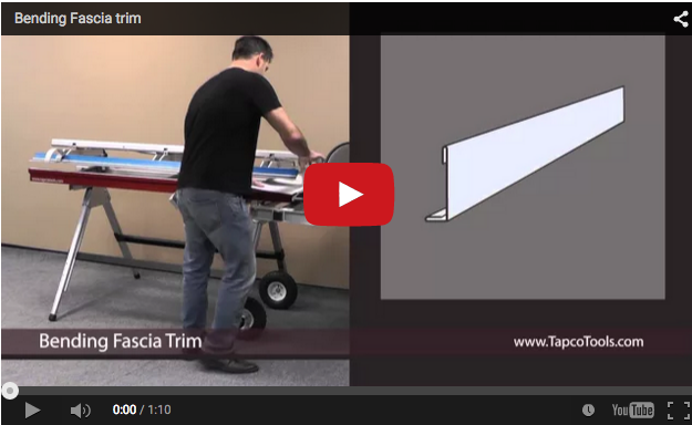 How To Bend Fascia Trim Protradecraft