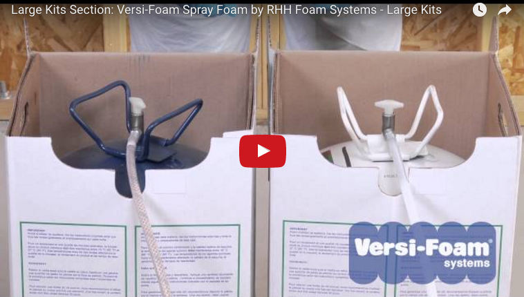 How To Operate A Versi Foam System 50 Kit The Big One
