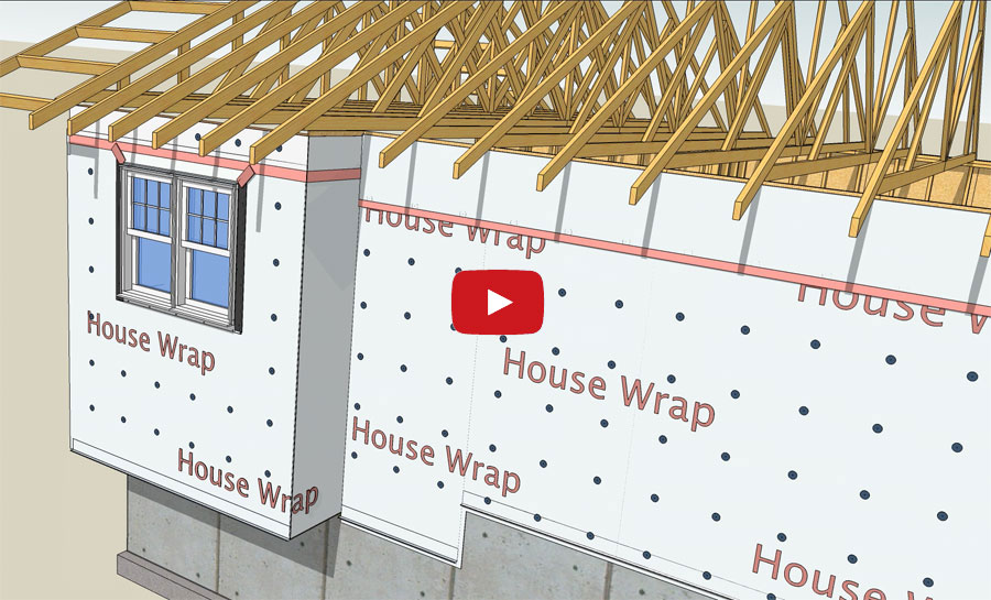 Wrb And House Wrap Installation Guide Protradecraft