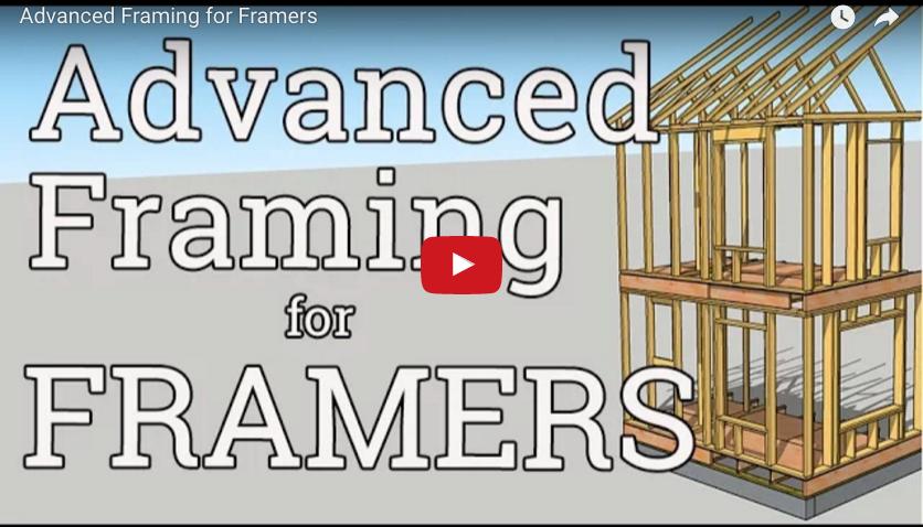 Advanced Framing for Framers | ProTradeCraft