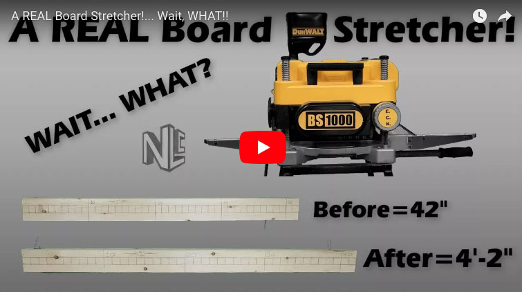Tool Review 110v Jobsite Board Stretcher Protradecraft