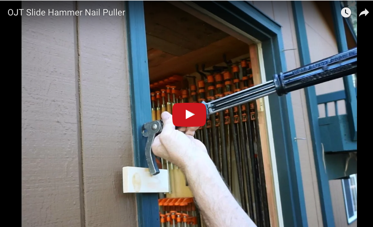 Oldschool Nail Puller Gets Tough Nails Out Protradecraft