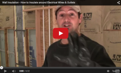 how to insulate around pipes and wires (video screenshot)