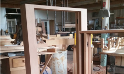 double hung window frame