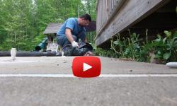 Image — sinking slab & pool patio repair
