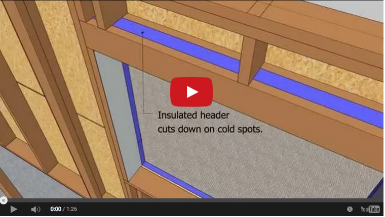 Air tight walls — interior details for insulation and air sealing