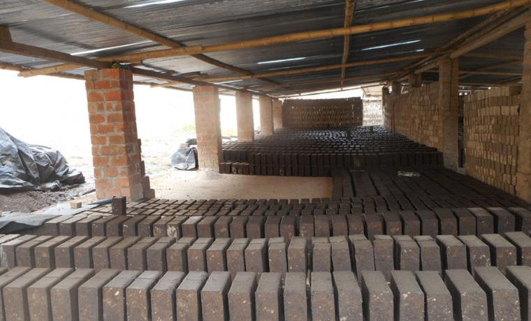 adobe bricks waiting for action
