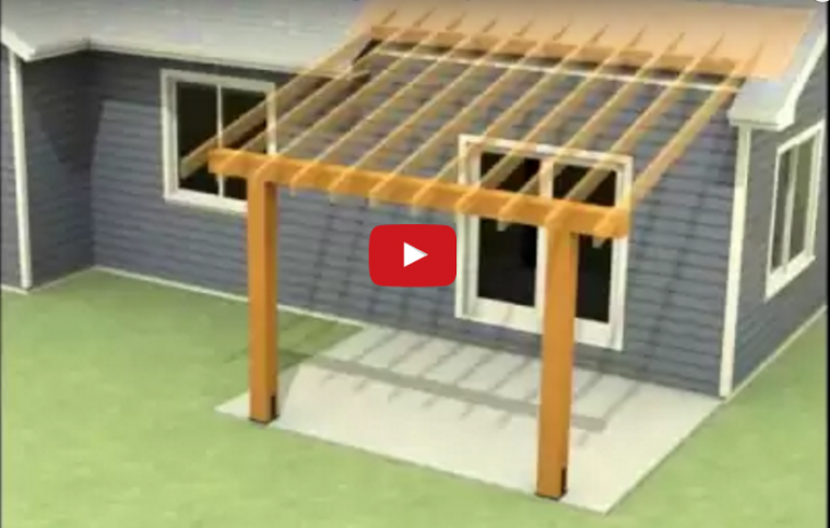 A video about patio roof plans