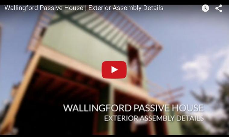 Passive house air barrier details video